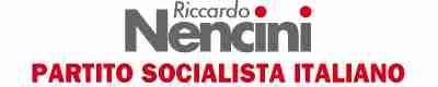 Riccardo Nencini, scrittore e Segretario del Psi
